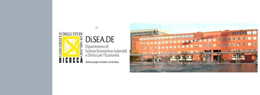 Università degli Studi di Milano Bicocca – Seminari: Trasporto e Turismo