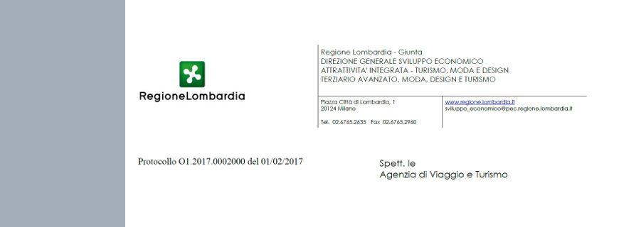 Fondo di Garanzia: la regione Lombardia scrive alle Agenzie di Viaggio e Turismo